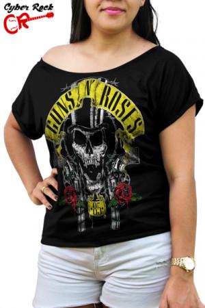 Blusinha Guns n Roses 85 Premium