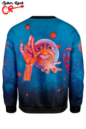 Blusa Moletom King crimson costas