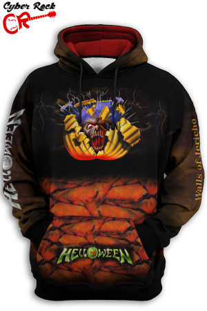 Blusa Moletom Helloween Walls of Jericho