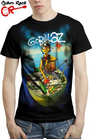 Camiseta Gorillaz II
