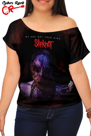 Blusinha Slipknot We Are Not Your Kind