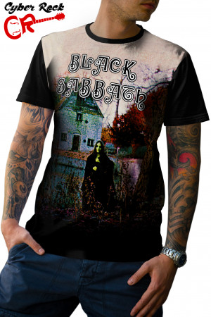 Camiseta Black Sabbath Album