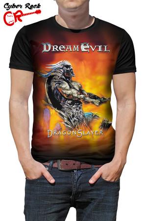 camiseta Dream Evil Dragon Slayer