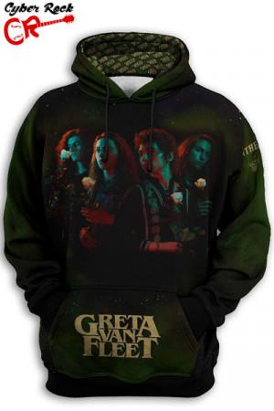 Blusa Moletom Greta Van Fleet Anthem frente