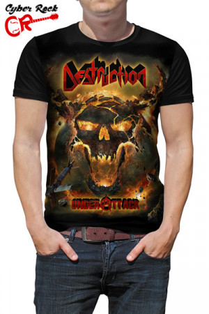 Camiseta Destruction Under Attack