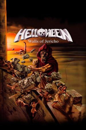 Camiseta Helloween Walls Of Jericho