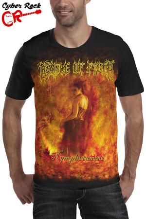 Camiseta Cradle of Filth Nymphetamine
