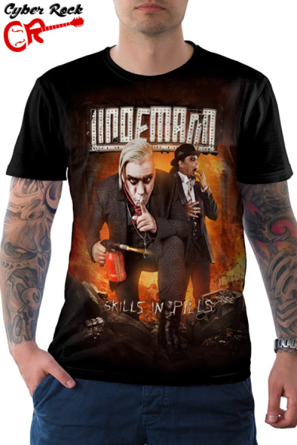 Camiseta Lindemann Kills In Pills