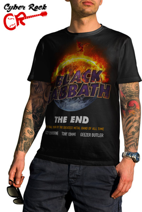 Camiseta Black Sabbath The End Tour