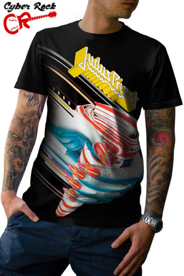 Camiseta Judas Priest - Turbo