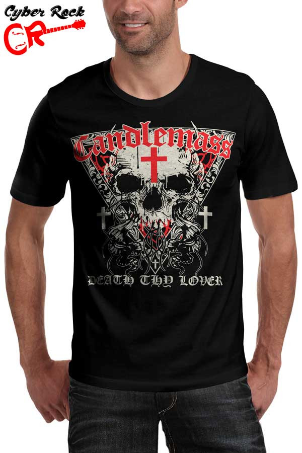 Camiseta Candlemass Death Thy Lover
