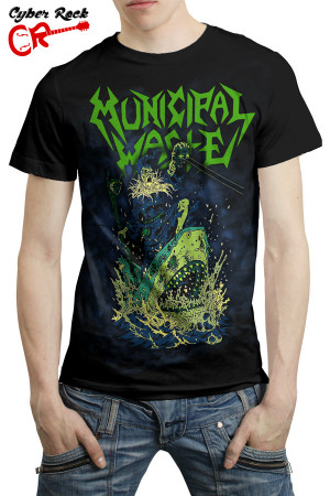 Camiseta Municipal Waste II