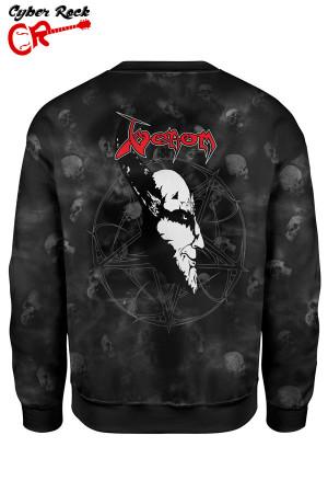 Blusa moletom Venom Black Metal