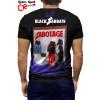Camiseta Raglan Black Sabbath Sabotage manga curta