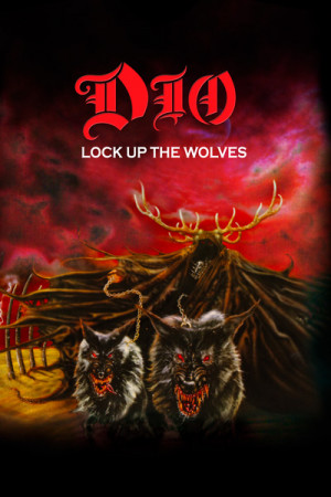 Camiseta Dio - Lock Up The Wolves