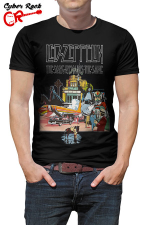 Camiseta Led Zeppelin-The Song Remains the Same