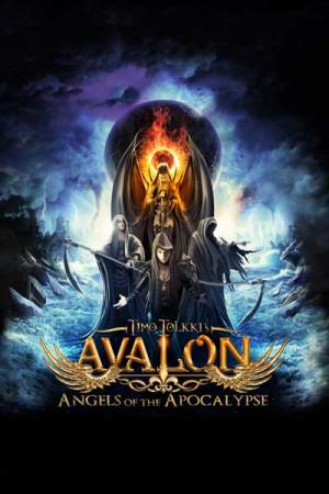 Camiseta Timo Tolkki Avalon Angels of The Apocalypse