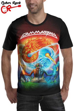 Camiseta Gamma Ray Insanity and Genius